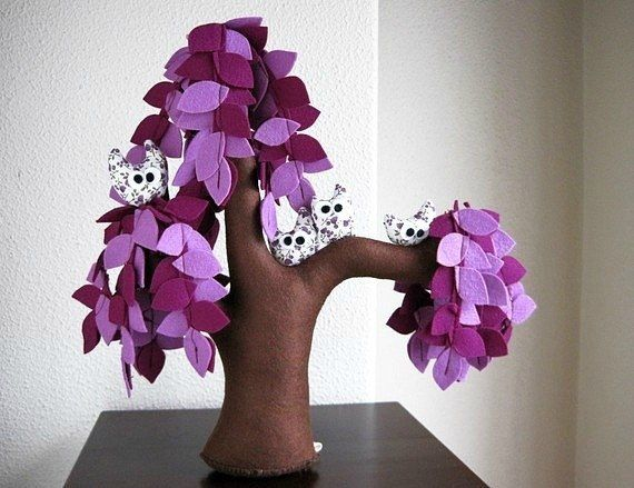 Here are some creative handmade felt trees for you to enjoy. They are from the Etsy shop Intres. I am always amazed by the creative minds and skillful hands to make something ordinary (such as felt) become extraordinary. These felt trees are so beautiful and definitely pieces of art! They …