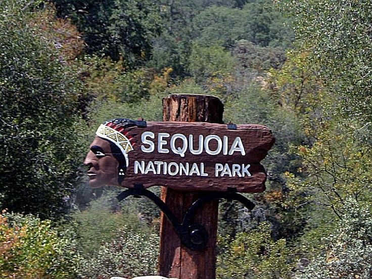 Sequoia National Park, a California natlpark located near Tulare ...