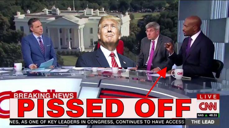 """PLEASE RESIGN!"" CNN Politics Panel 'ANGRY Reaction On Trump's Latest Ac..."