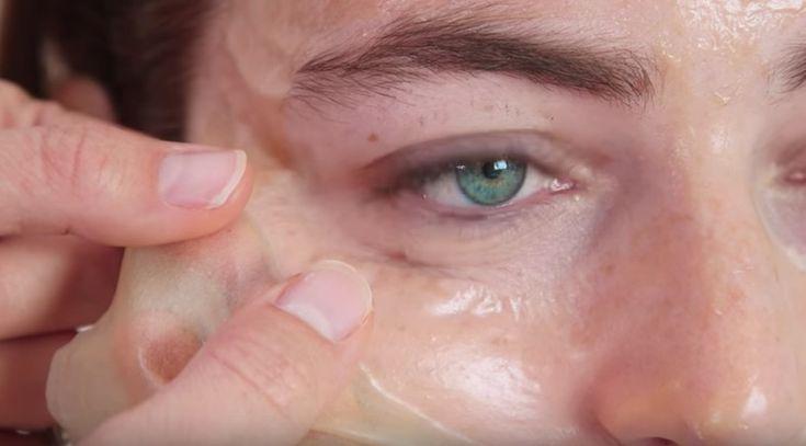 Un masque peel off vraiment top pour tous les types de peau - Astuces de grand mère