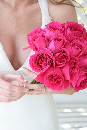 my wedding color scheme must involve pink. there really is no other option...