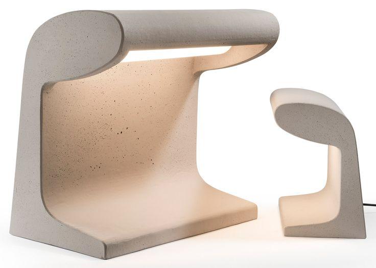 Milan 2016: Italian lighting design firm Nemo has reissued Le Corbusier's Borne Béton lamp, originally designed by the architect in 1952