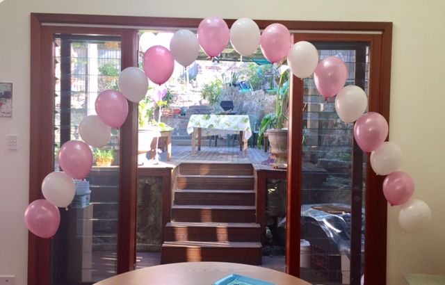 Beautiful Baby Shower Arch