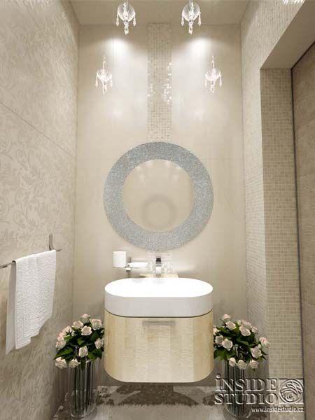 Návrh interiérů koupelny. Interior Family House. Architect Irina Richter. INSIDE-STUDIO Prague