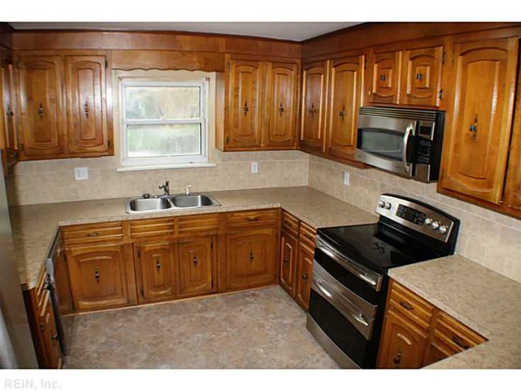 Kitchen With Brand New Countertops! Virginia BeachMicrowaveReal ...