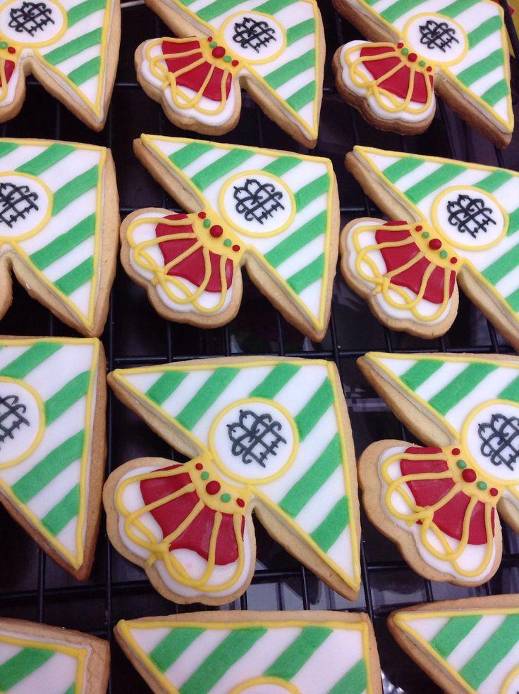 Real Betis Balompié Football fondant cookies