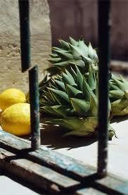 Artichokes and lemons