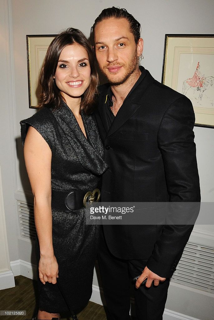 Charlotte Riley (L) and Tom Hardy attend the English National Ballet Cocktail Reception at The Dorchester on June 15, 2010 in London, England.