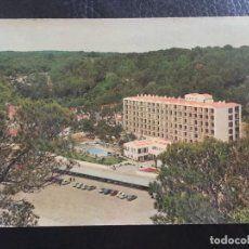 Antigua postal años 50 Menorca Hotel Cala Galdana. Ediciones Dolf