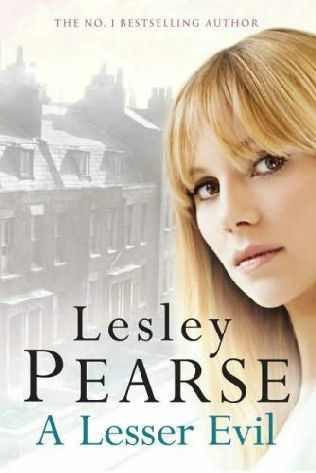 book cover of     A Lesser Evil     by    Lesley Pearse