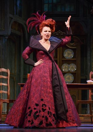 Fran Densher in Cinderella on Broadway she's so amazing I love her and almost cried seeing her in person!