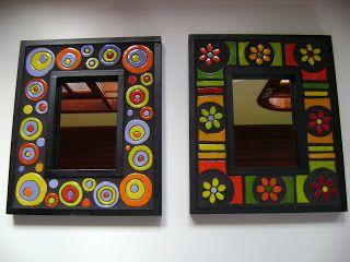 Yemina Serodino: molduras de espelhos