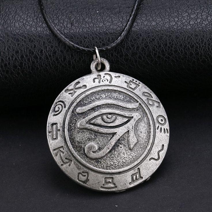 Ancient Egypt Eye of Horus Pendant Necklace