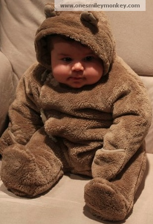 chubby baby in cute bear suit? I MIGHT EXPLODE