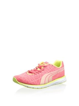40% OFF PUMA Women's Narita V2 Running Shoe (Calypso Coral/Sunny Lime)