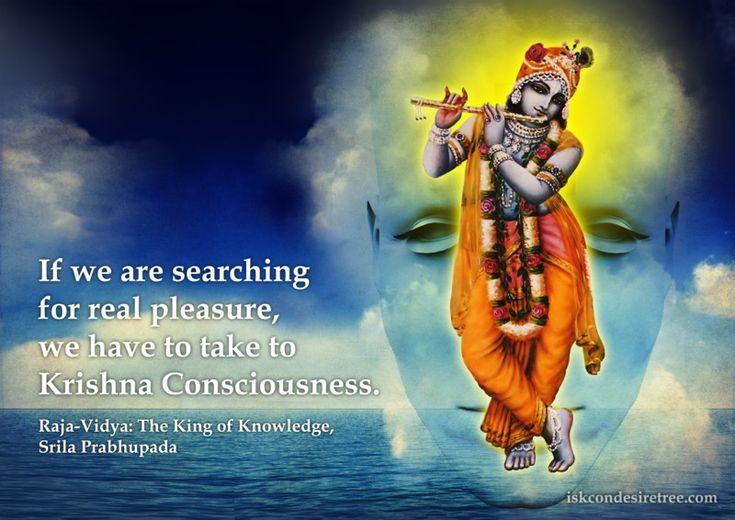 Srila Prabhupada on Real Pleasure - Krishna Consciousness