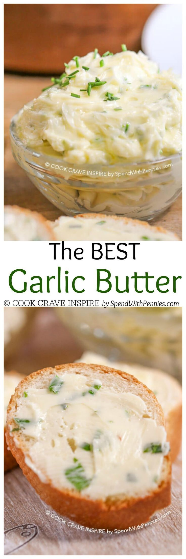 The BEST Homemade Garlic Butter