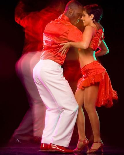 salsa dancing - the real kind - not ballroom
