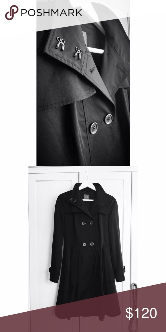 BRAND NEW Armani Exchange Coat Unused fitting trench coat that I bought over a year ago for my sister in Sweden, it didn't fit her and it was too late returning it when I got back to USA. Armani Exchange Jackets & Coats Trench Coats