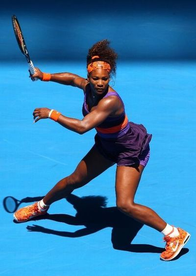 Serena William #tennis @JugamosTenis