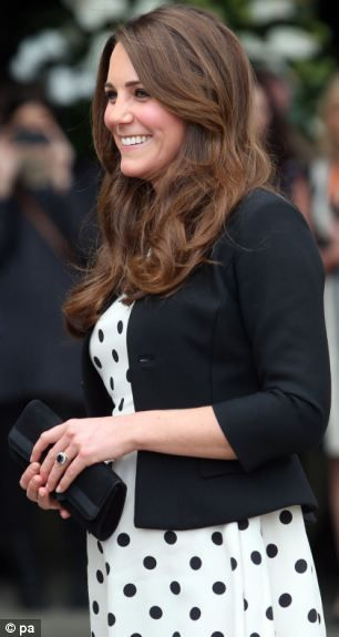 The Duchess of Cambridge arrives for her visit to Warner Bros studios in Leavesden where the Harry Potter films