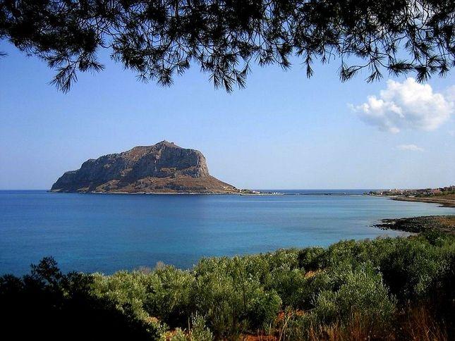 Old Monemvasia in Greece