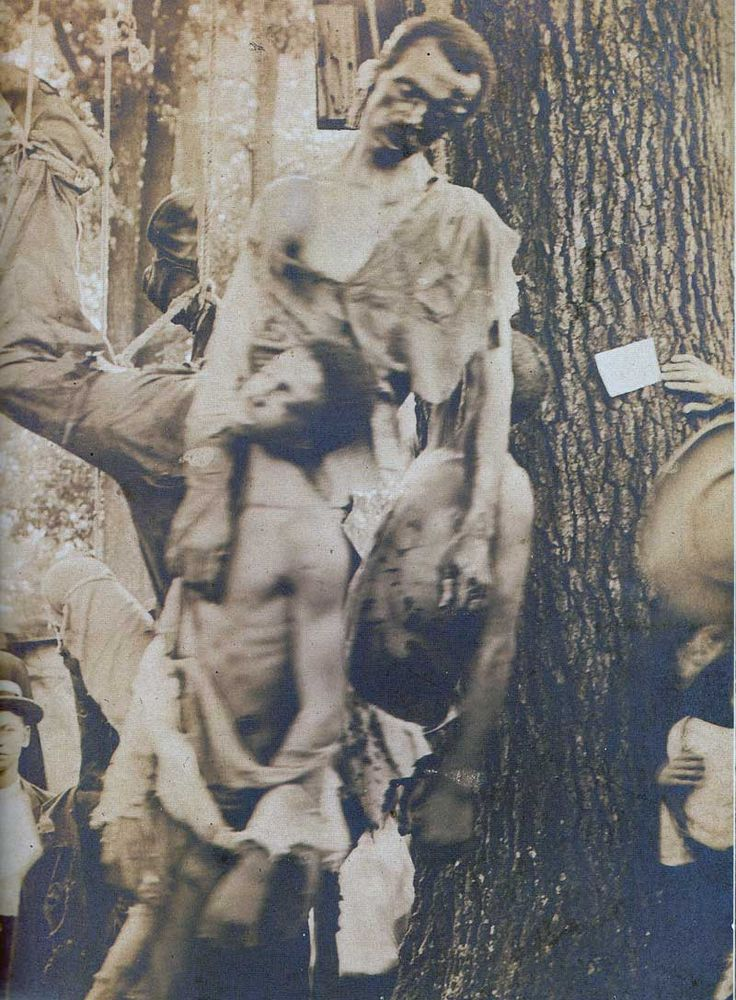 Lynching of Nease Gillespie, John Gillespie and Jack Dillingham, Salisbury, Georgia, 1906