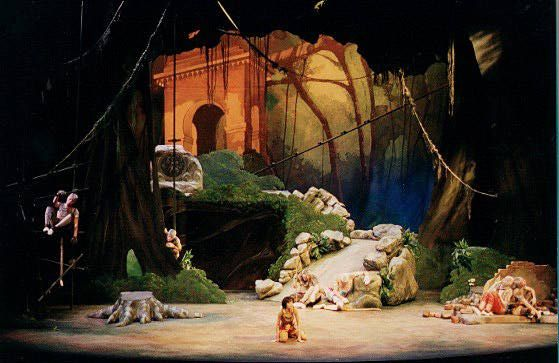 Related image jungle book in 2019 Set design theatre