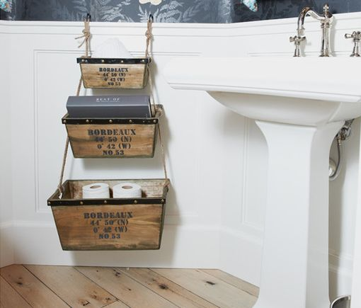 1000 images about put it in a basket on pinterest for Arredo bagno idee originali