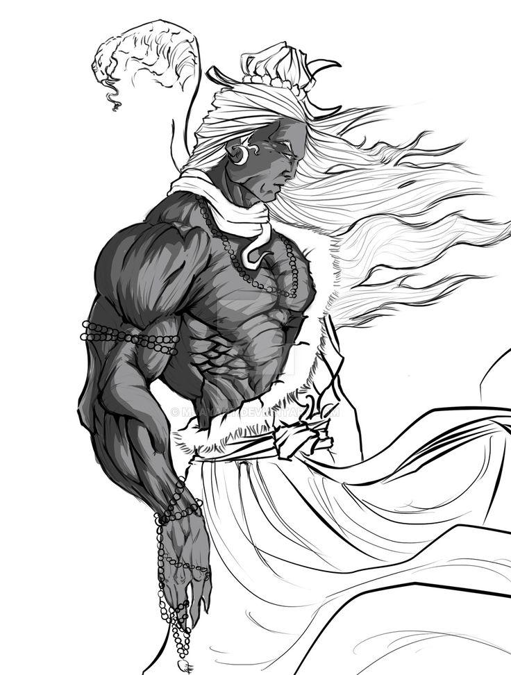 Lord Shiva by Mjayant.deviantart.com on @DeviantArt