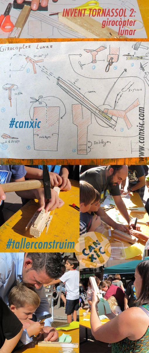 taller construim a Can Xic, invents del professor #tornassol #tallerconstruim a #canxic #lagarriga #voriental #ambnens #manualitats #craftsforkids #manualitatsperanens#maker