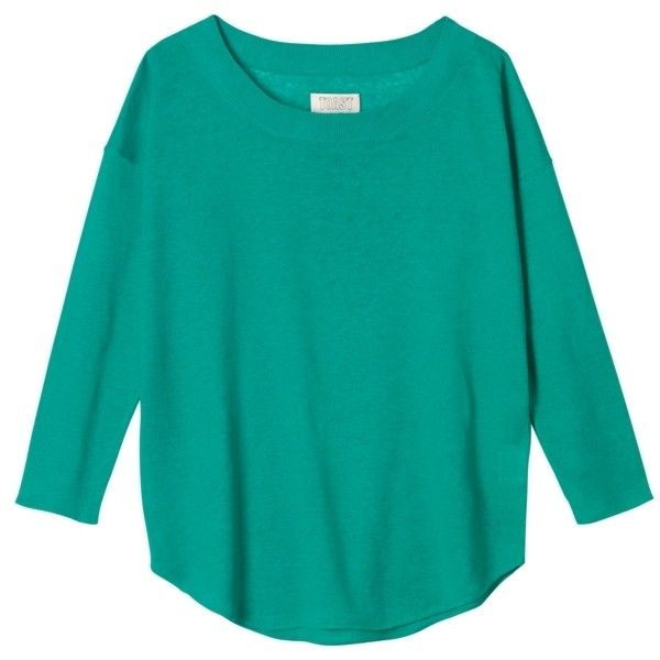 Toast Linen Jumper, Green (95 CAD) ❤ liked on Polyvore featuring tops, sweaters, shirts, jumpers, green sweater, blue sweater, sleeve shirt, jumper shirt and blue shirt