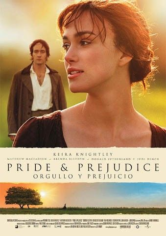 Orgullo y Prejuicio | Mi chic movie favorita, tarde muchos años en leerme el libro, pero ahora tengo chic book favorito