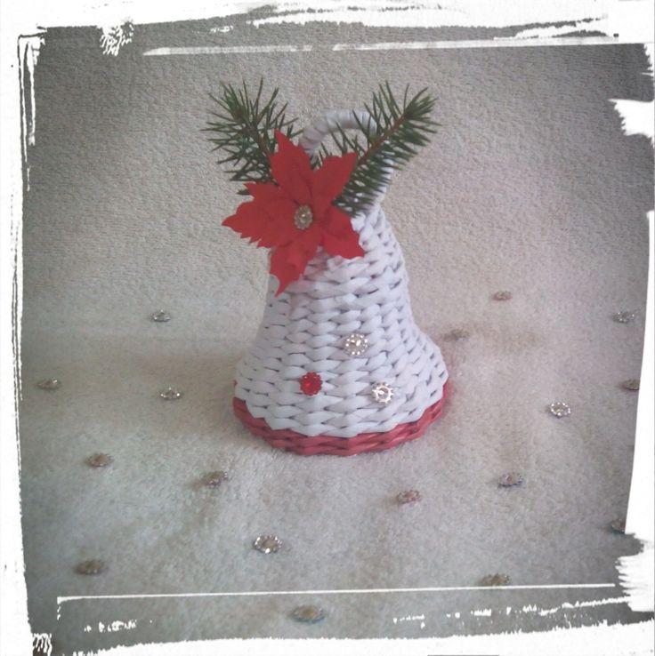 Piros-fehér harang