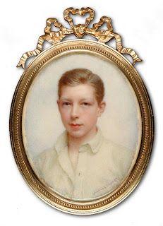 c.1895. Signed. Mabel Lee Hankey. Unknown Boy: