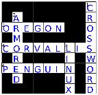 Make Crossword puzzles type in clues and words. Great for vocab. study or spelling words.