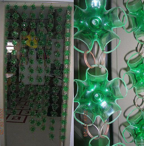 cortina de garrafa pet | Flickr - Photo Sharing!