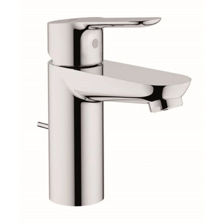 Grohe BauEdge Basin Mixer 5 Star WELS, 6 Star Low Chrome