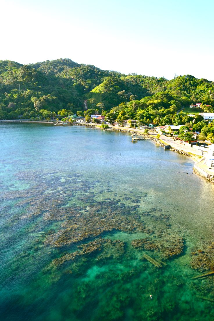 Isla Roatan, Honduras... I've been here and would LOVE to go back.  Absolutely breathtaking!