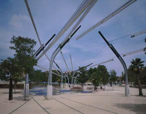 Parque Público y Ludoteca en Mollet 1994 - 1999   TAGLIABUE, Benedetta MIRALLES MOYA, Enric   Mollet del Vallés (Barcelona) España