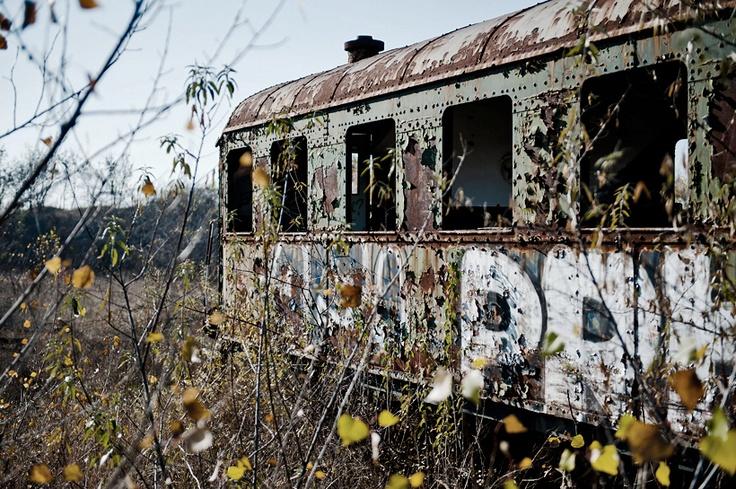 train cemetery in Budapest