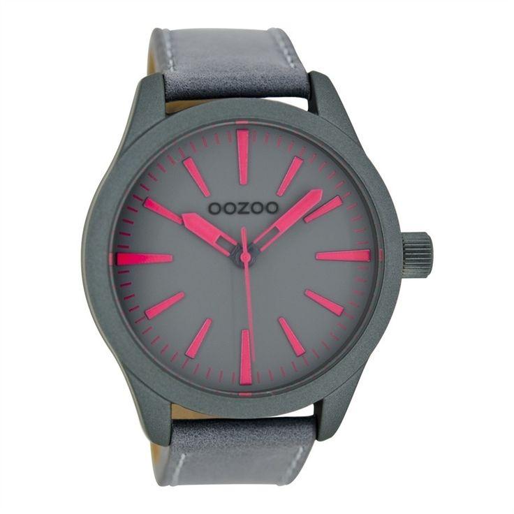 OOZOO Timepieces Groen/Roze C6415 (46MM)