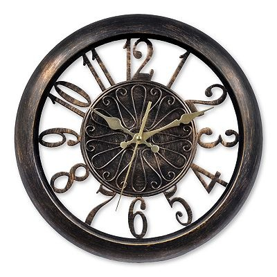 Chaney Antiqued Wall Clock now available at Kohl s. 132 best Clocks images on Pinterest   Clocks  Alarm clocks and Weather