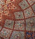 Click here to view this Very Fine Vintage Tabriz Persian Rug 51042, quality: 500 knots available for sale at Nazmiyal in New York