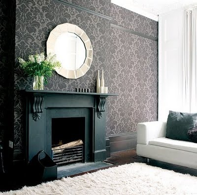 Great Wall Idea Wallpaper Just One Use A Mirror Accent To Help It