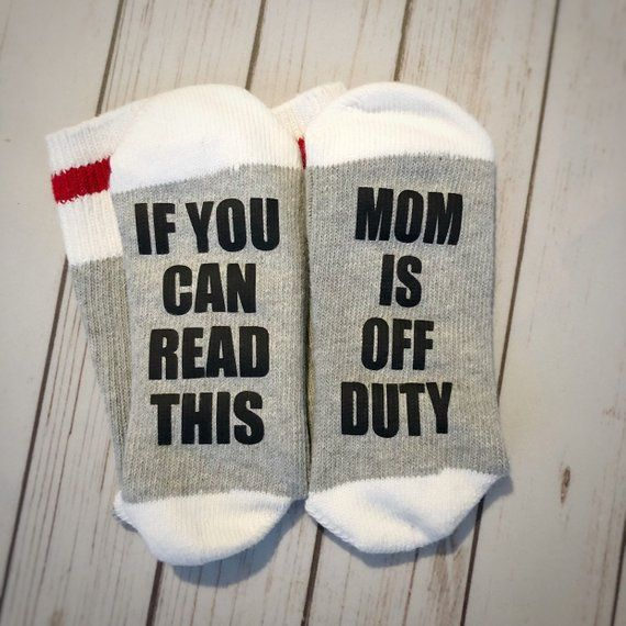 If You Can Read This Mom Is Off Duty Gift For Women Christmas