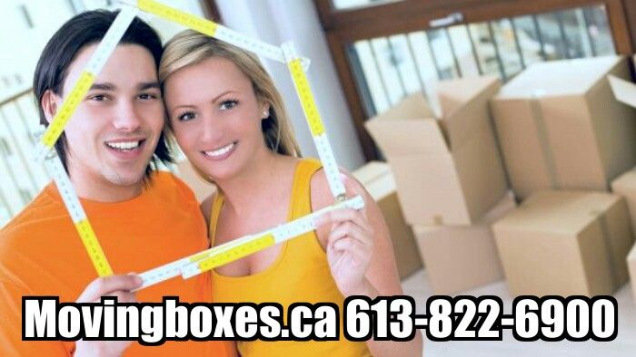 Moving boxes and packing supplies delivered www.movingboxes.ca
