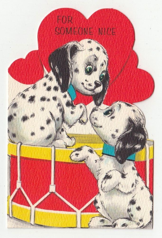462 best Vintage valentine Cards Dogs images – Hallmark Valentine Cards