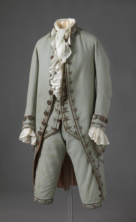 Suit - 1780s - Nasjonalmuseet for Kunst, Arketektur, og Design