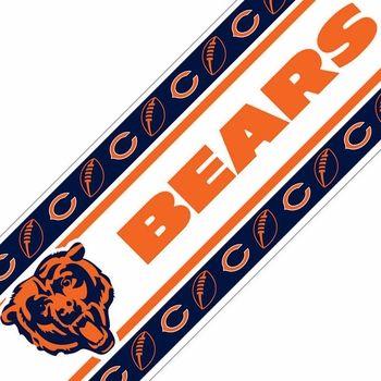 Chicago Bears Wall Border